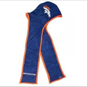 NFL Denver Broncos Ultra Fleece Hoodie Scarf